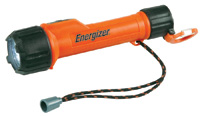 Energizer+ LED Intrinsically Safe Flashlight (2 AA Batteries Included)