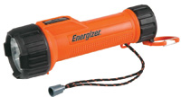 Energizer+ LED Intrinsically Safe Flashlight (2 D Batteries Included)