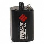 EVEREADY� SUPER HEAVY-DUTY� CARBON ZINC LANTERN BATTERY, 6 VOLTS