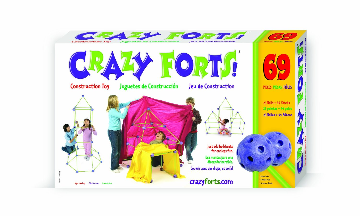 Crazy Forts 69 Piece Set Original