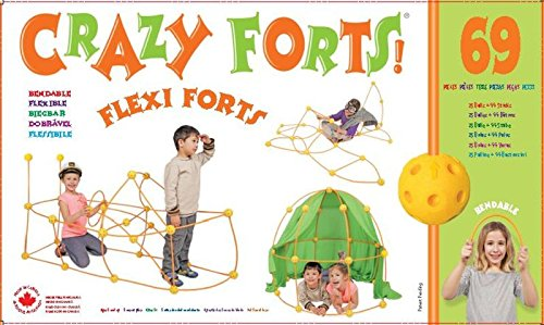 Crazy Forts! Flexi Forts 69 Piece Set