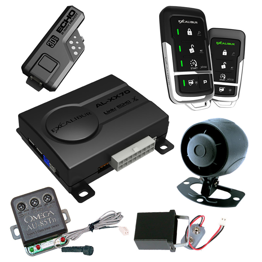 Excalibur 2-way keyless entry and security system 1 2-way remote 1 standard remote