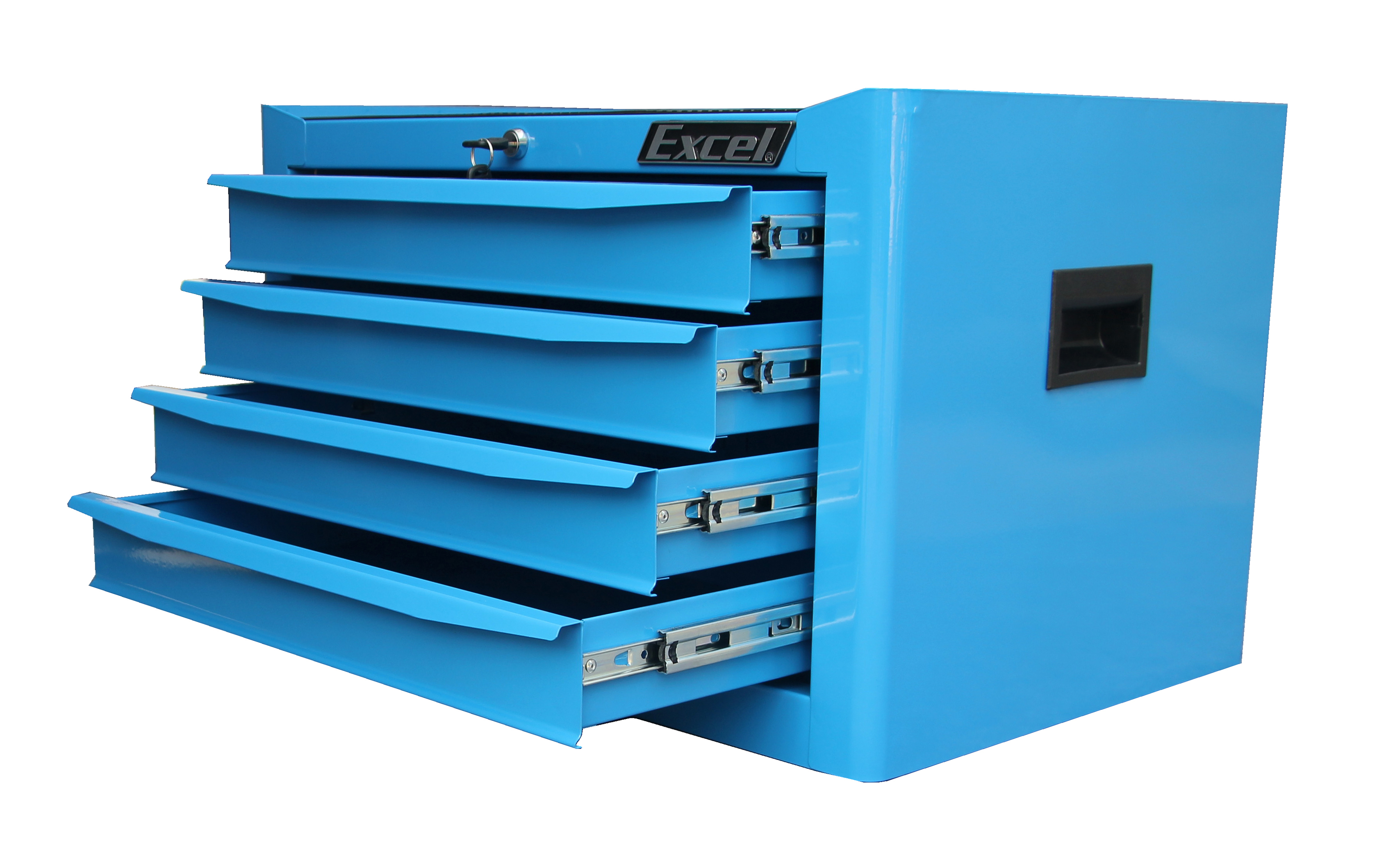 """Excel 26"""" Top Chest with Four Ball Bearing Slide Drawers"""