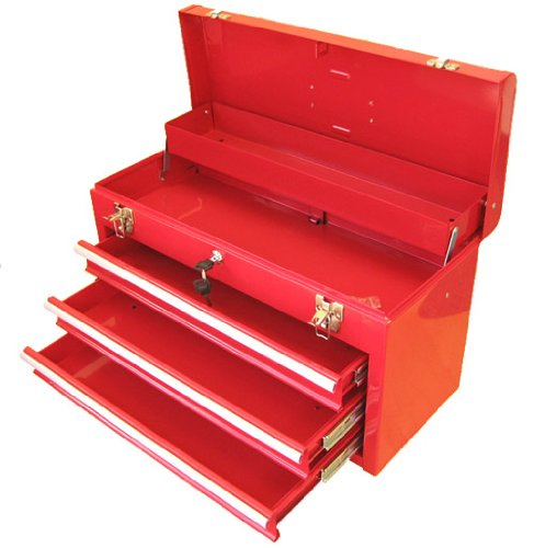 Excel 3 Drawer Locking Tool Box
