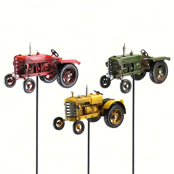 Tractor Garden Stakes : Exhart products
