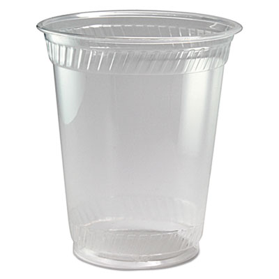 Kal-Clear PET Cold Drink Cups, 12/14 oz, Clear, 50/Sleeve, 20 Sleeves/Carton