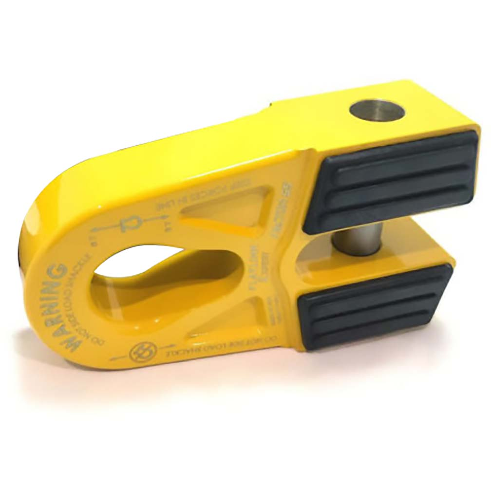 Factor 55 FlatLink E (Expert) Shackle Mount Assembly in Yellow