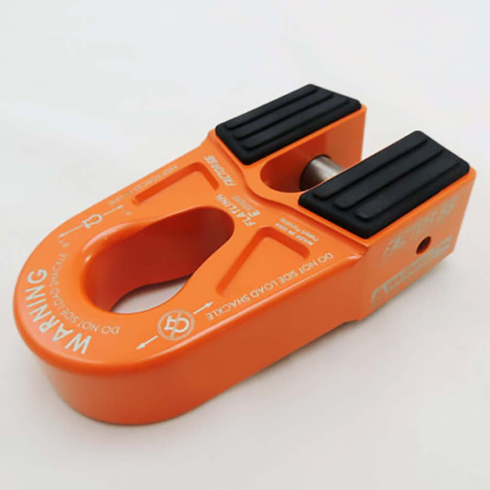 Factor 55 FlatLink E (Expert) Shackle Mount Assembly in Orange