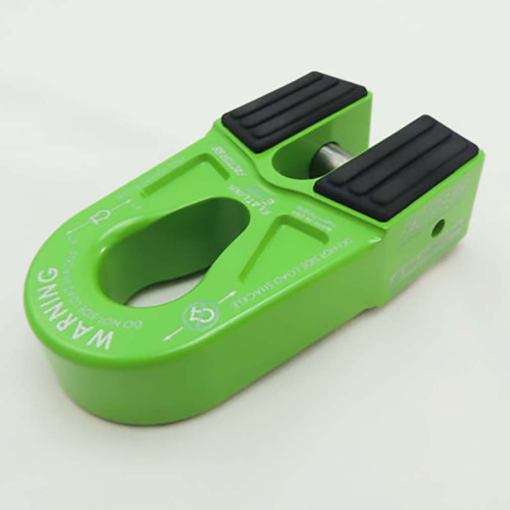 Factor 55 FlatLink E (Expert) Shackle Mount Assembly in Lime Green