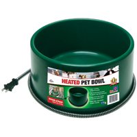 BOWL PET HEATED ROUND