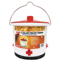 DRINKER POULTRY HEATED 2GALLON