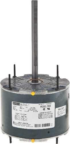 FASCO� TOTALLY ENCLOSED CONDENSER FAN MOTOR, 5-5/8 IN., 208 / 230 VOLTS, 1.8 AMPS, 1/4 HP, 1,075 RPM