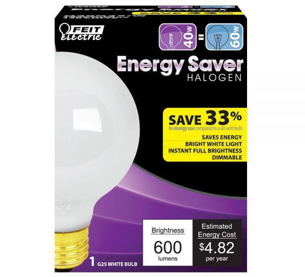 Q40G25 40W G25 CLR GLOBE LAMP