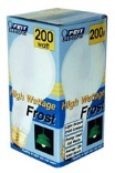 200A 200W FROSTED BULB