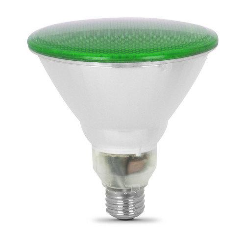 BULB LED GREEN PAR38 REFLECTOR