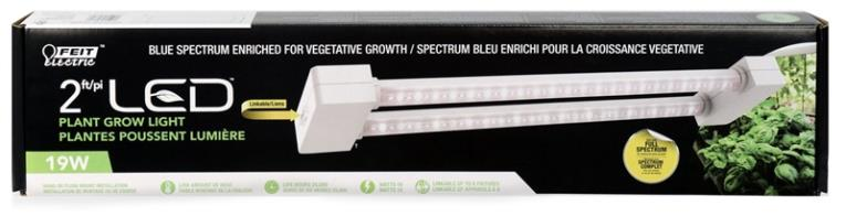 FIXTURE LED 19W 2X2FT GROW LT