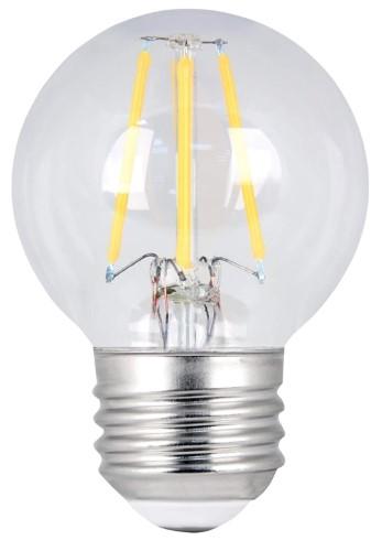 BULB LED 60W G16-1/2 E26 27K