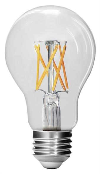 BULB LED 60W A19 27K CLEAR DIM
