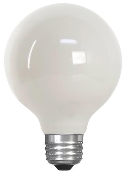 BULB LED 40W G25 27K DIM WHT