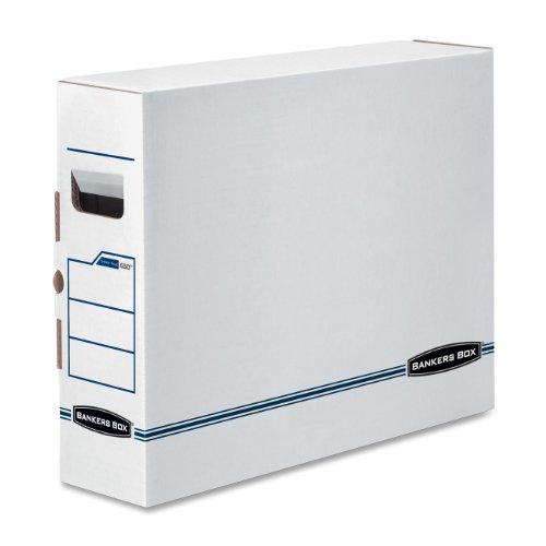 X-Ray Storage Box, Film Jacket Size, 5 x 19 3/4 x 14 7/8, White/Blue, 6/Carton