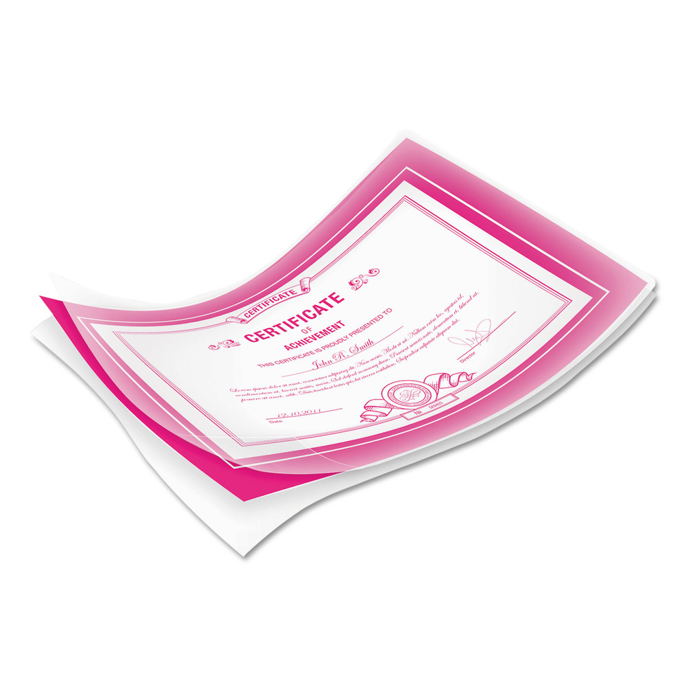 Laminating Pouches, 10mil, 11 1/2 x 9, 50/Pack