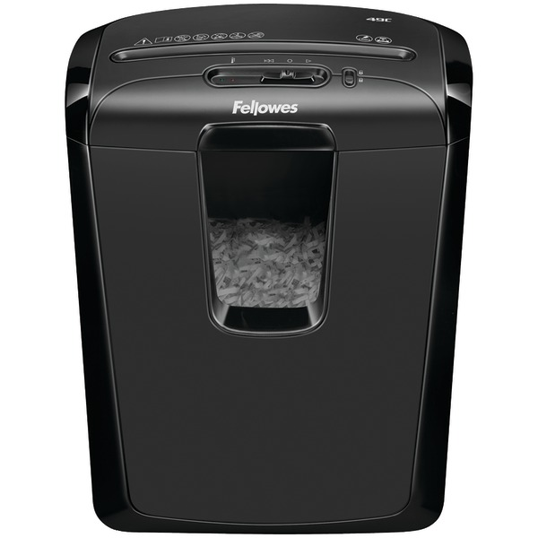 FELLOWES 4605801 Powershred 49C 8-Sheet Cross-Cut Shredder