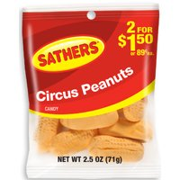 CIRCUS PEANUTS BAG 2.5 OZ