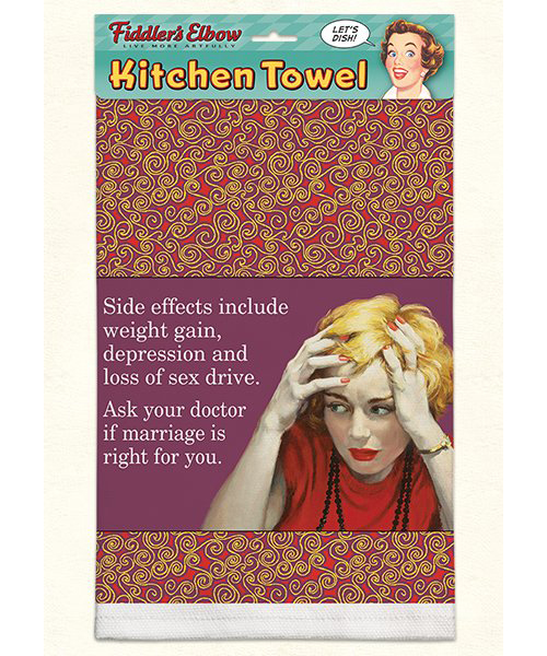 Side Effects Include Towel