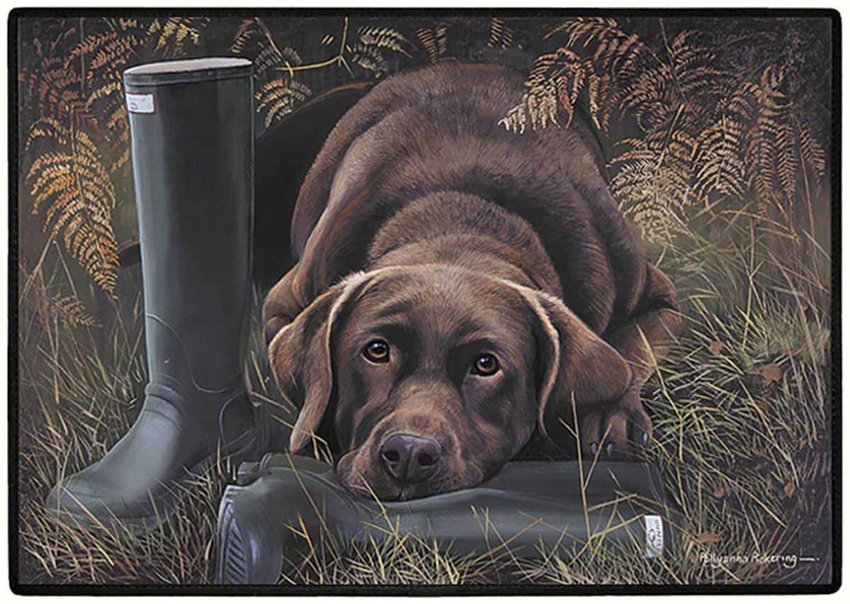 Chocolate Lab Doormat