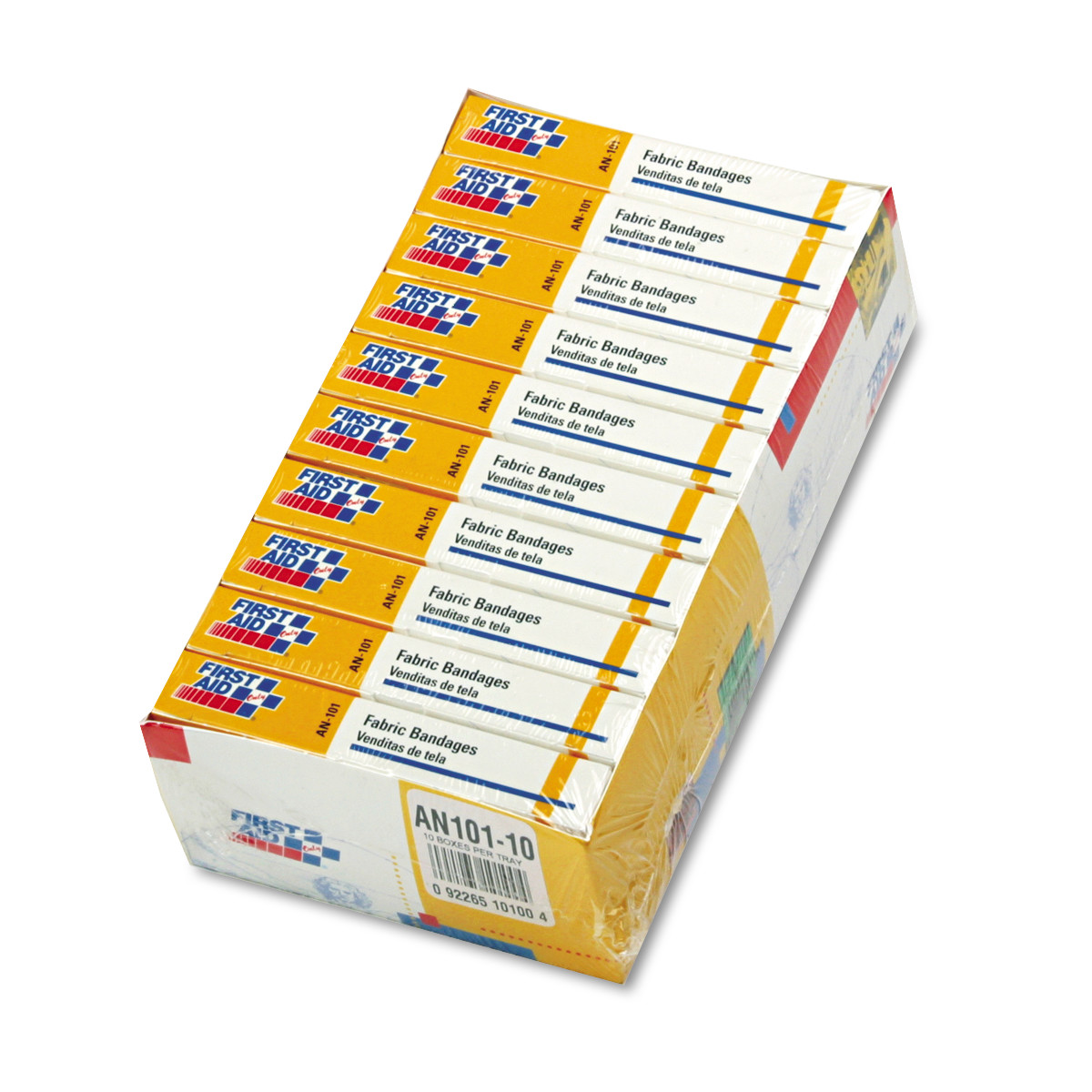 "First-Aid Refill Fabric Adhesive Bandages, 1"" x 3"", 160/Pack"