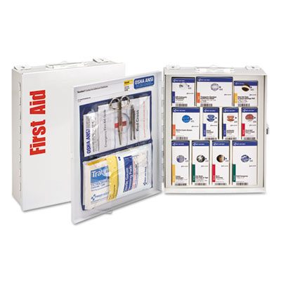 ANSI 2015 SmartCompliance First Aid Station Class A, No Meds,25 People,96 Pieces
