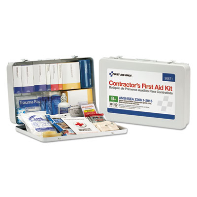 Contractor ANSI Class B First Aid Kit for 50 People, 254 Pieces