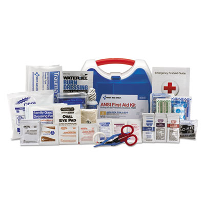 ReadyCare First Aid Kit for 25 People, ANSI A+, 141 Pieces