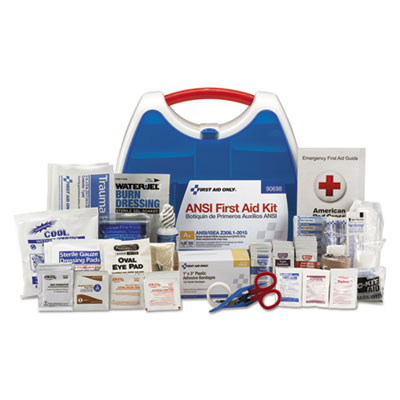 ReadyCare First Aid Kit for 50 People, ANSI A+, 260 Pieces