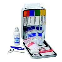 KIT FIRST AID 94PC AUTO METAL