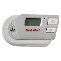 First Alert GCO1CN Plug-In Combination Gas Detector, CO, Natural/Methane, Propane, Low Battery