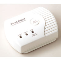 FIRST ALERT CO400 BATTERY-POWERED CARBON MONOXIDE ALARM (NO DIGITAL DISPLAY)