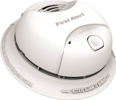 FIRST ALERT� LITHIUM POWER CELL SMOKE ALARM, TAMPER PROOF, 10-YEAR SEALED BATTERY