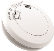 FIRST ALERT� LOW PROFILE PHOTOELECTRIC SMOKE/CO COMBO ALARM WITH VOICE, TAMPER PROOF, 10-YEAR SEALED LITHIUM BATTERY