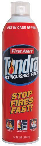 FIRST ALERT� TUNDRA FIRE EXTINGUISHING SPRAY, 14 OZ.