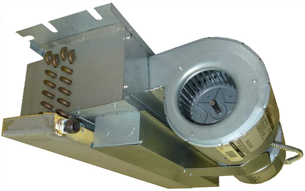 FIRST COMPANY HORIZONTAL RECESSED CEILING FAN COIL, 2.5 TONS, UNCASED