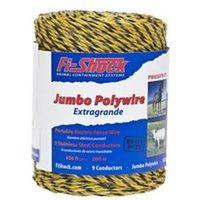 9 JMB Polywire, Yellow, 656'