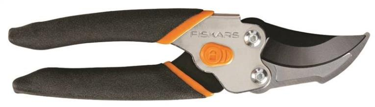 Fiskars Pro Bypass Smooth Action Pruning Shear, 5/8 in Capacity, Hardened Steel Blade