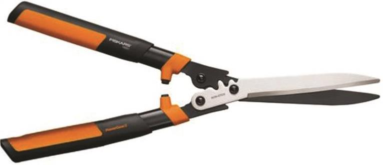 PowerGear 392861-1002 Hedge Shear, 10 in x 23 in L Round Ergonomic, Hardened Steel