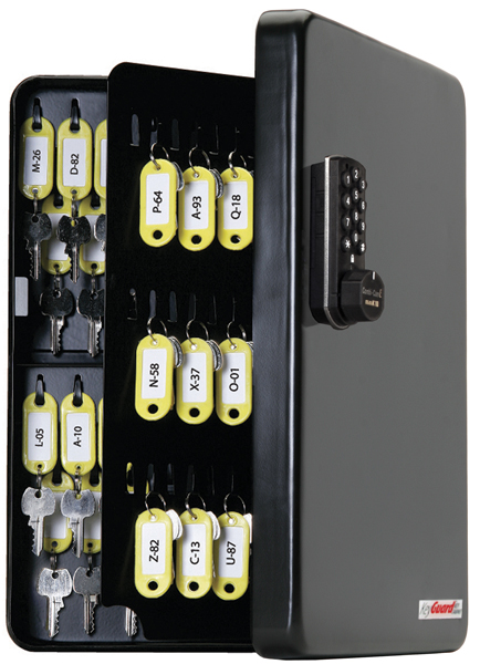 KeyGuard Electronic Combination Key Cabinet- 122 hooks