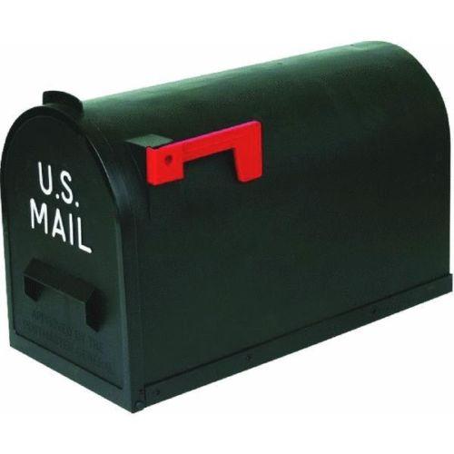 #2 Black Rural Mailbox