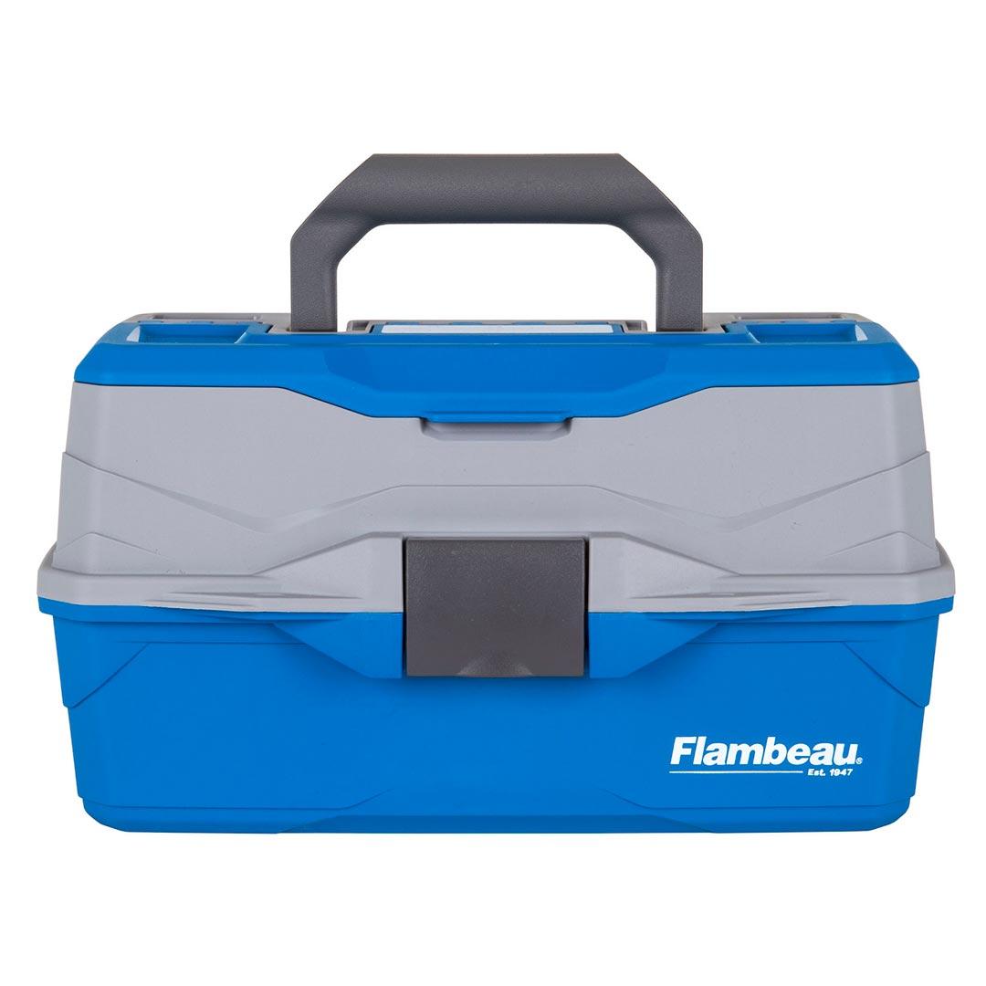 Flambeau 2 Tray Tackle Blue Gray