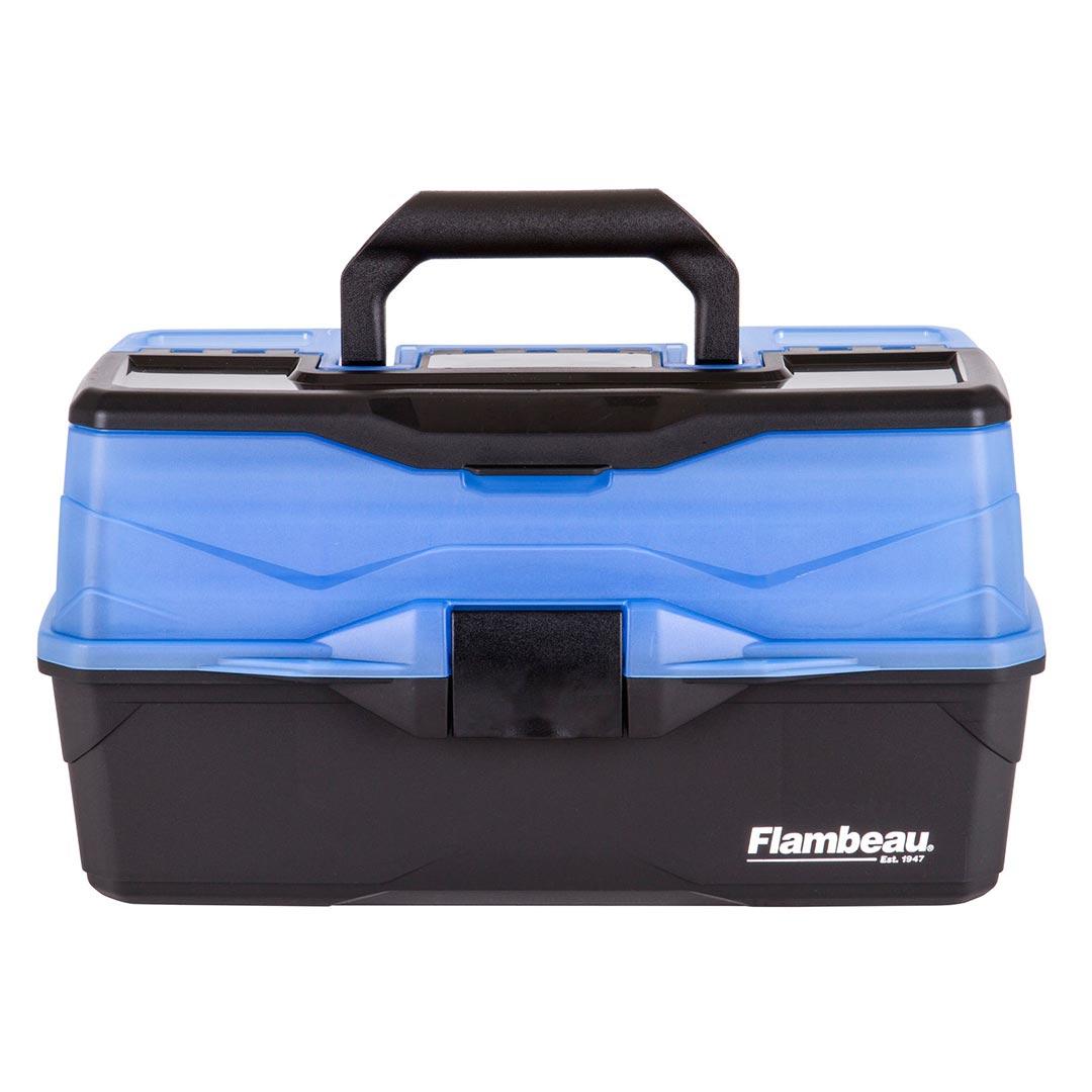 Flambeau 3 Tray Frost Blue Black