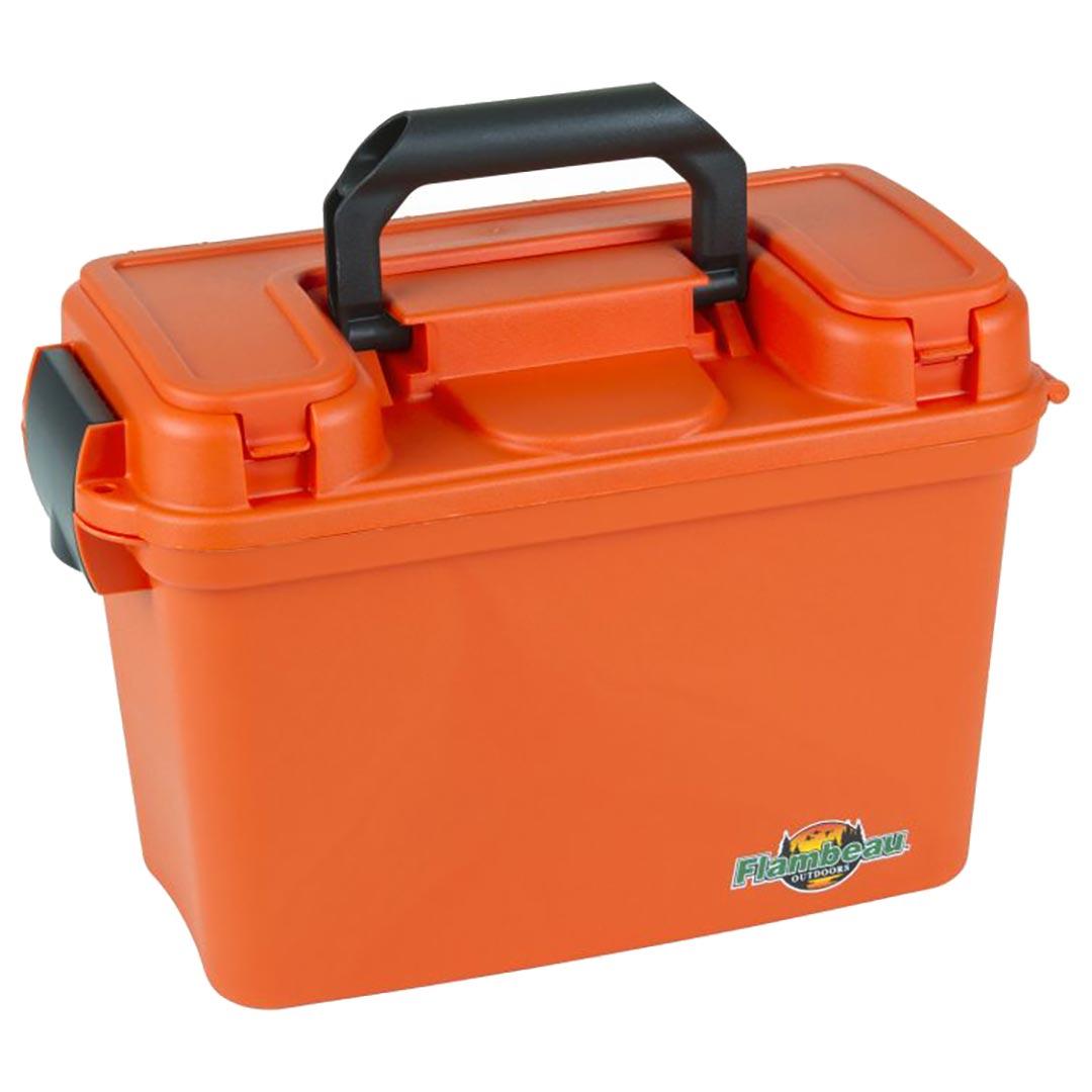 Flambeau 1409 14 Inch Dry Marine Tackle Box Orange
