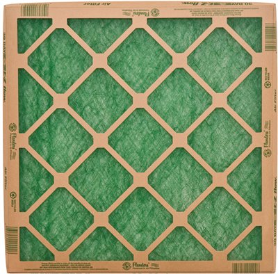 FLANDERS� PRECISIONAIRE� NESTED GLASS AIR FILTER, 14X25X1 IN.,